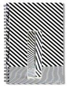 Prism Stripes 1 Spiral Notebook