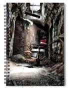 Prison Barbershop Spiral Notebook