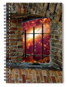 Prison In The Cosmos Spiral Notebook