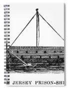 Prison Ship: Jersey Spiral Notebook