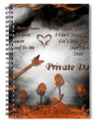 Private Dancer Spiral Notebook