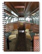 Private Dome Rail Car  Spiral Notebook