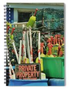 Private Property Spiral Notebook