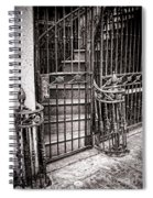 Private Stairway  Spiral Notebook