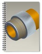 Pro-e Part Design Spiral Notebook