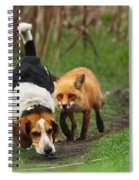 Probably The World's Worst Hunting Dog Spiral Notebook