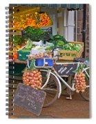 Produce Market In Corbridge Spiral Notebook