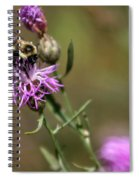 Productive Bee Spiral Notebook