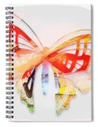Profound Thought Butterfly Spiral Notebook