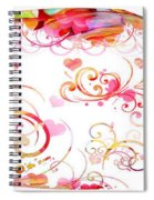 Profound Thought Whirls Spiral Notebook