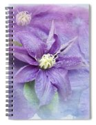 Profusion Of Purple Spiral Notebook