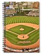 Progressive Field Antique Look Spiral Notebook