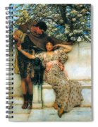 Promise Of Spring Spiral Notebook