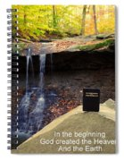 Proof Of God's Existence Spiral Notebook