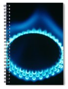 Propane Burner Spiral Notebook