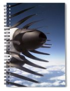 Propeller Movement Spiral Notebook