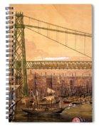Proposed Railway Bridge Spiral Notebook
