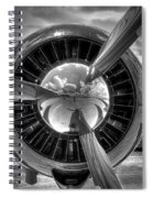 Props And Jet Spiral Notebook