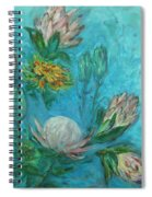 Protea Flower Study I Spiral Notebook
