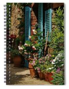 Provencal Alley Spiral Notebook