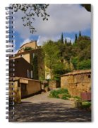 Provencal Village Spiral Notebook