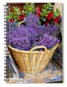Provence Lavender Spiral Notebook