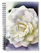Proverbs 14 32 Spiral Notebook