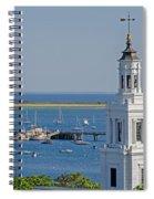 Provincetown Steeple Spiral Notebook