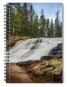 Provo River Falls 2 Spiral Notebook