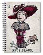Prue Proud Spiral Notebook