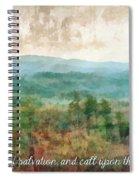 Psalm 116 13 Spiral Notebook