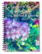 Psalm 116 5 Spiral Notebook