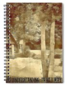 Psalm 119 125 Spiral Notebook