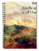 Psalm 119 134 Spiral Notebook