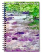 Psalm 119 136 Spiral Notebook