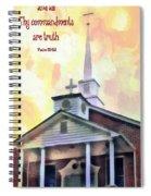 Psalm 119 151 Spiral Notebook