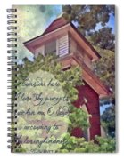 Psalm 119 159 Spiral Notebook