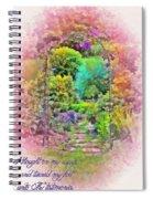 Psalm 119 59 Spiral Notebook