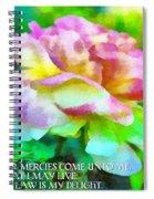 Psalm 119 77 Spiral Notebook