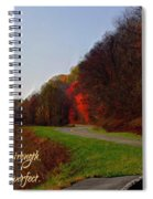 Psalm 18 32 Spiral Notebook