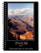 Psalm 90 Spiral Notebook