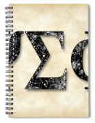 Psi Sigma Phi - Parchment Spiral Notebook