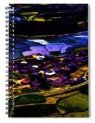 Psychadelic Aerial View Spiral Notebook
