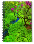 Psychedelic Adventure  Spiral Notebook