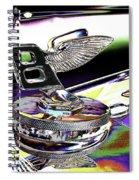 Psychedelic Bentley Mascot 2 Spiral Notebook