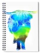 Psychedelic Bovine #2 Spiral Notebook