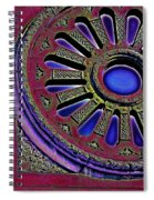 Psychedelic Church Window Spiral Notebook