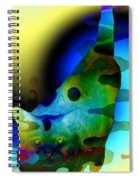 Psychedelic Kitty Spiral Notebook
