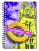 Psychedelic Underground Spiral Notebook