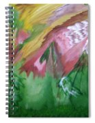 Psychedelic Wolf Spiral Notebook